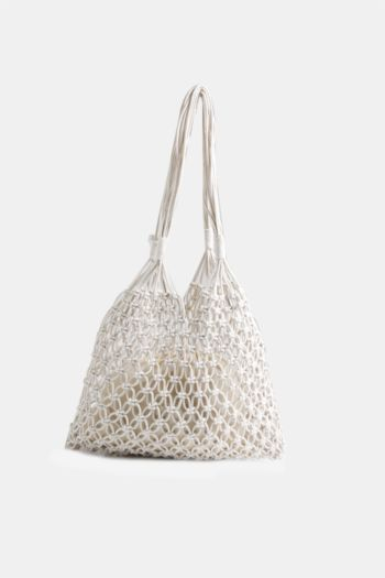 Macrame Plait Shopper Bag