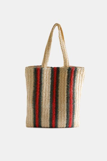 Stripe Per Basket Bag