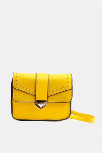 Stud Messenger Bag