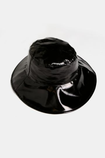 Wet Look Bucket Hat