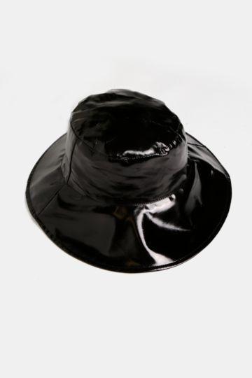 Wet Look Bucket Hat