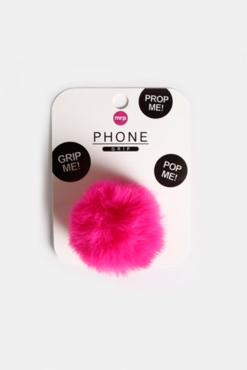 Fluffy Phone Grip