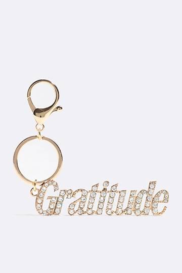 Gratitude Keyring