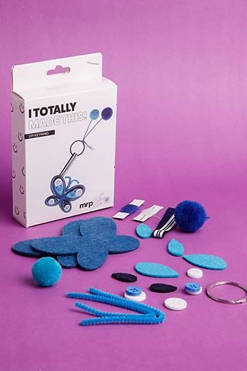 Butterfly Keyring Kit