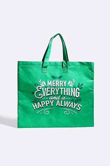 Merry Everything Shopper Bag