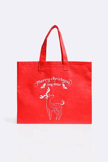 Deer Shopper Bag
