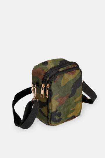 Camo Crossbody Bag