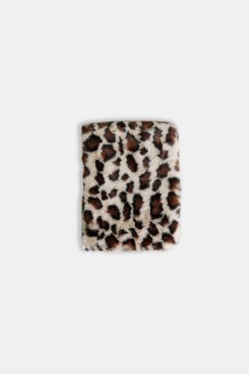 Fluffy Leopard Notebook