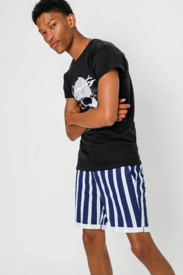 Stripe Chino Shorts