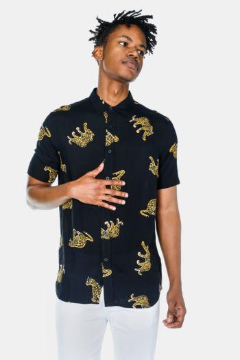 Tiger Printed Shirt