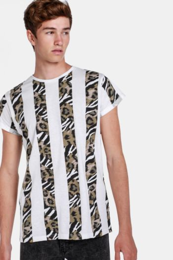 Printed Muscle T-shirt