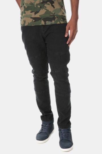 Tapered Fit Denim Jeans