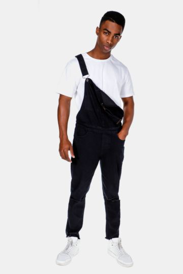 Cropped Dungaree