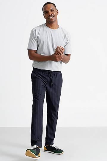 Stripe Slim Fit Pants