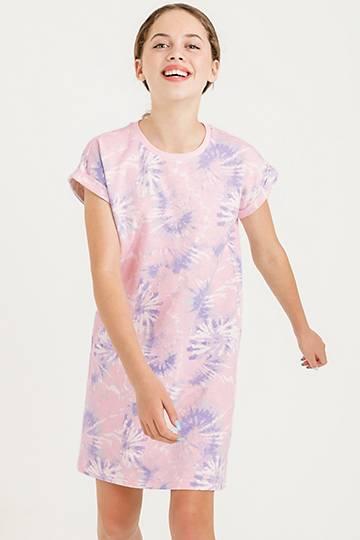 Printed T-shirt Dress