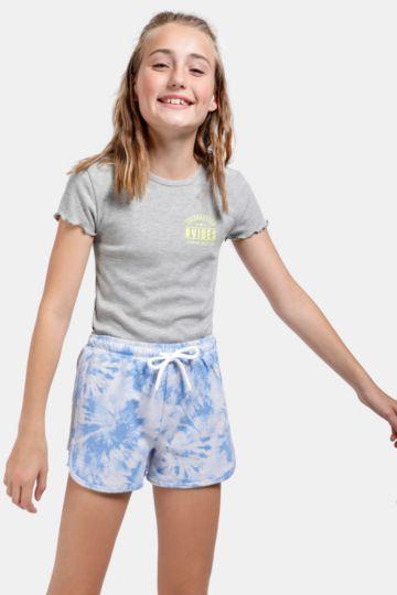 Printed Runner Shorts