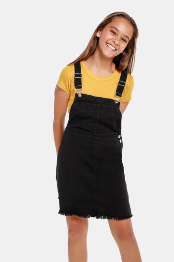Denim Pinafore Dress 237faa46f77d