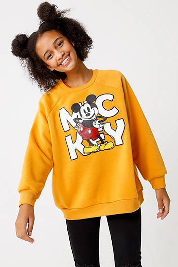 Oversized Mickey Pullover