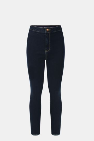 Tube Denim Jeans