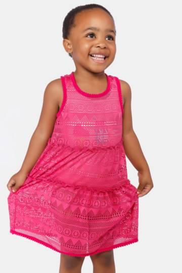 Lace Swim Dress