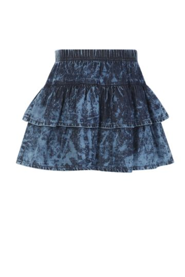 Denim Fru Fru Skirt
