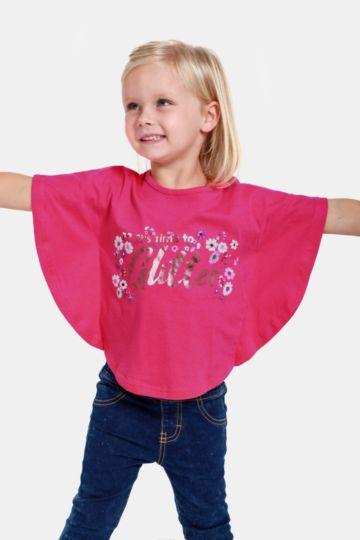 Statement Batwing Top