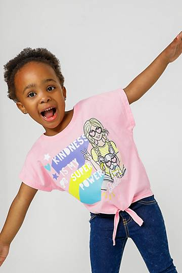 Barbie Graphic Print T-shirt