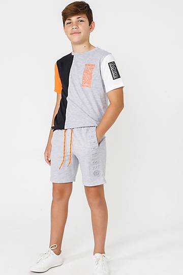 Embossed Shorts