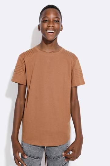Pintuck T-shirt