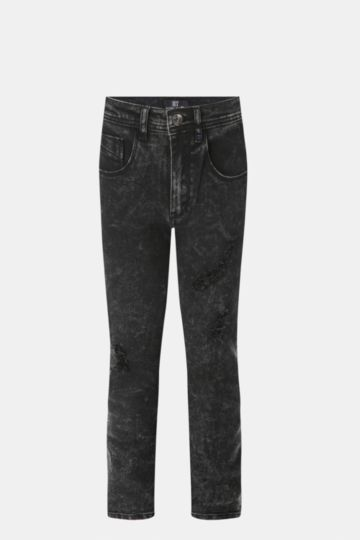 Tapered Fit Denim Jeans