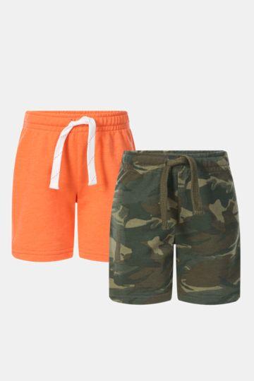 2 Pack Fleece Shorts
