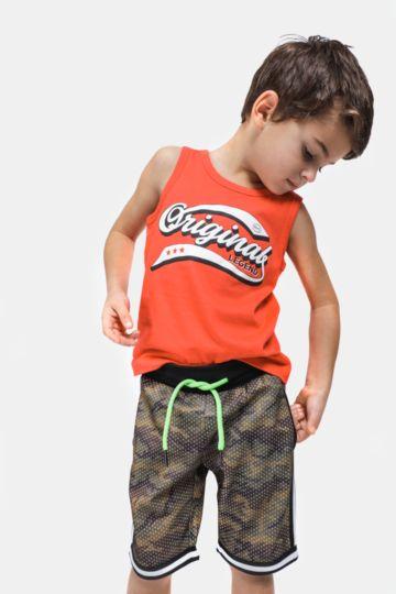 Printed Basketball Shorts