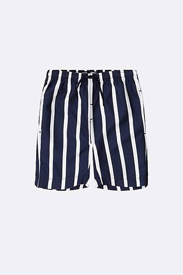 Stripe Swimshorts