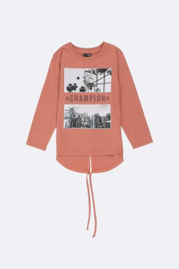 Statement Long Sleeve Top