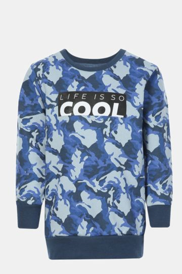 Printed Pullover