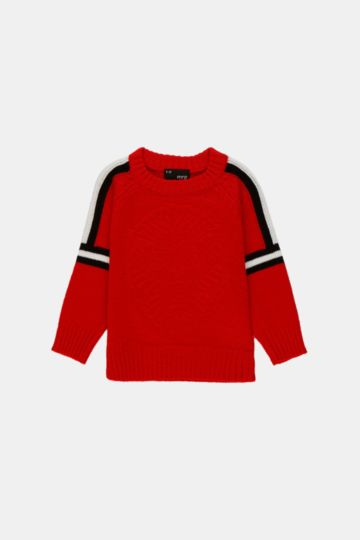 Side Tape Pullover