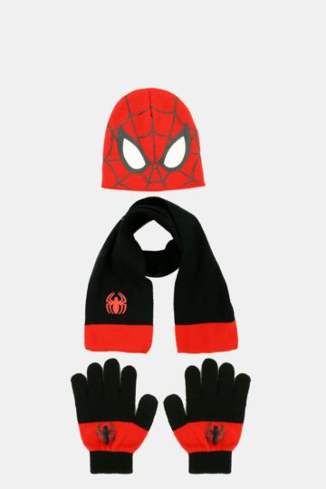 Spiderman Winter Set