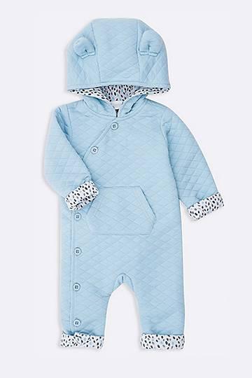 Hooded Teddy Bear Sleepsuit