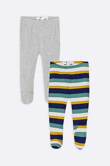 2 Pack Stripe Print Leggings