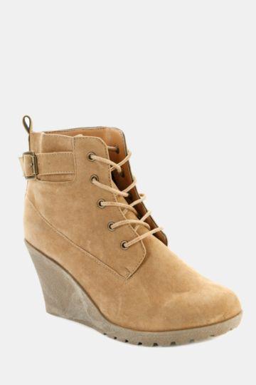 Wedge Hiker Boot