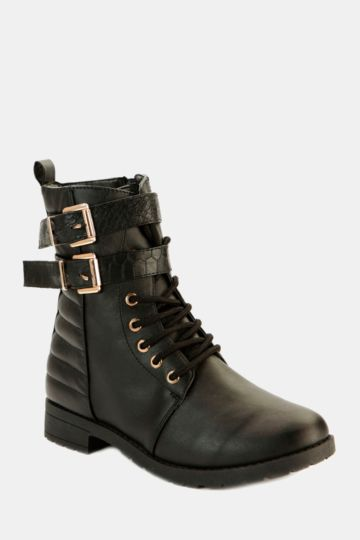Tall Ankle Boot