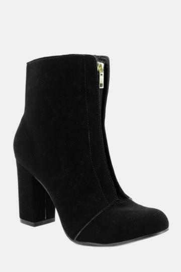 Zip Front Boot