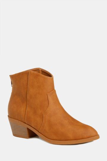 febd46860ac3 Block Heel Cowboy Boot
