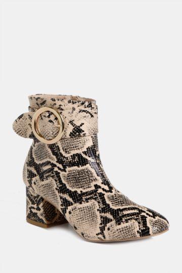 25bca8f7f36 Animal Print Ankle Boot