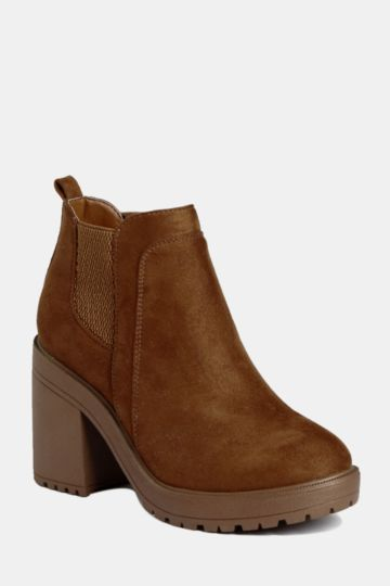 Chelsea Block Heel Boot