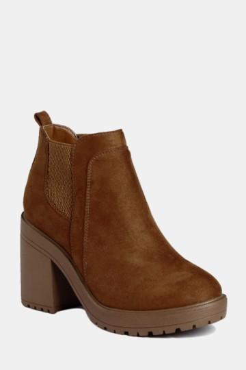 979f66992a2 Chelsea Block Heel Boot. MRP Shoes