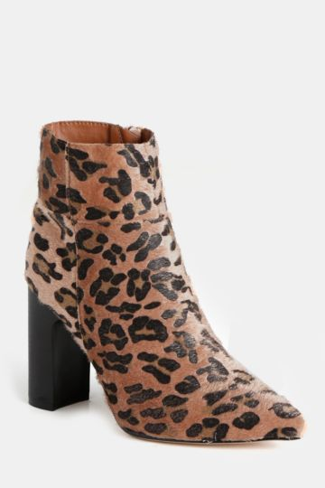 c1b8a7681e32 Animal Print Ankle Boot. MRP Shoes