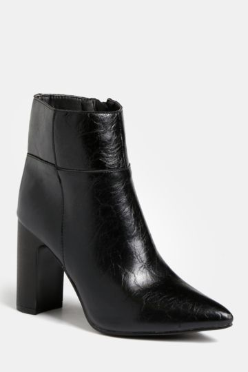 8510b6f563f Block Heel Ankle Boot. MRP Shoes