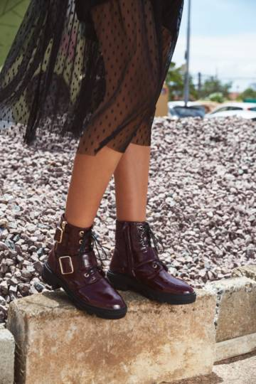 Grunge Ankle Boot