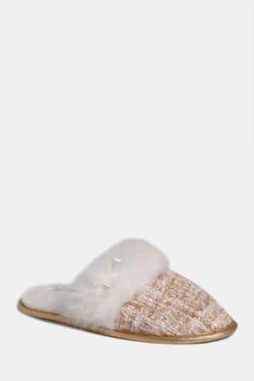 Boucle Fluffy Slipper